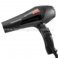 Secador de Pelo Profesional New Pro Basic Turbo 2600 Teknikpro con difusor