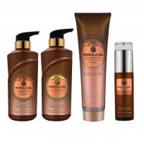 Pack Shampoo + Acondicionador + Mascara + Aceite Marula Oil