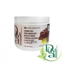 Crema Gel para Masajes Reductores y Modeladores de Chocolate y Lúpulo Dr. Duval