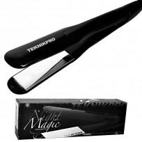 Plancha de Pelo Profesional Night Magic Ion Titanium TeknikPro