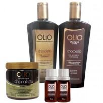 Shampoo + Acondicionador + Tratamiento Choco + 2 Ampollas de REGALO!