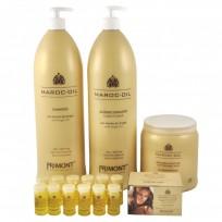 Pack Maroc Oil: 1 Shampoo x 1.8L + Acondicionador x 1.8L + Tratamiento x1kg + 12 Ampollas Primont
