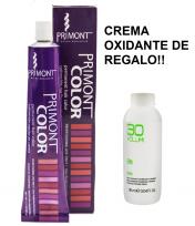 Tintura Primont x 60 gr + Crema Oxidante Aqua Loop x 100 ml DE REGALO!!!