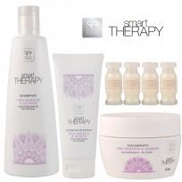 Pack Keratin & Quinoa Smart Therapy: 1 Shampoo + 1 Acondicionador + 1 Tratamiento + 4 Ampollas DE REGALO!