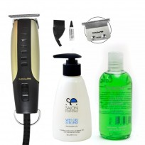 Patillera Rob Babyliss + Shampoo y Gel Men