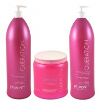 SUPER RECOMENDABLE!! Shampoo x 1800 ml + Acondicionador x 1800 ml + Mascara x 1000 ml Queration Primont