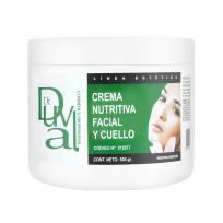 Crema Nutritiva Facial y Cuello x 500gr.