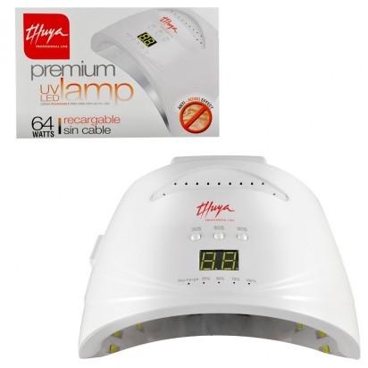 Cabina Recargable sin Cable UV/LED 64 W Premium Thuya