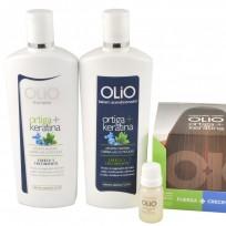 Pack Olio Específico Caída: Shampoo + Acondicionador + 6 Ampollas