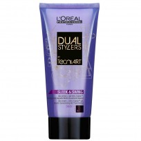 Crema-Gel Dual Stylers, Sleek y Swing Tecni Art x 150 ml L'Oreal Professional