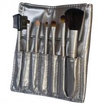 Set DE 7 Pinceles Para Maquillaje