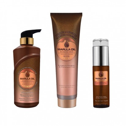 Pack Shampoo + Mascara + Aceite Marula Oil